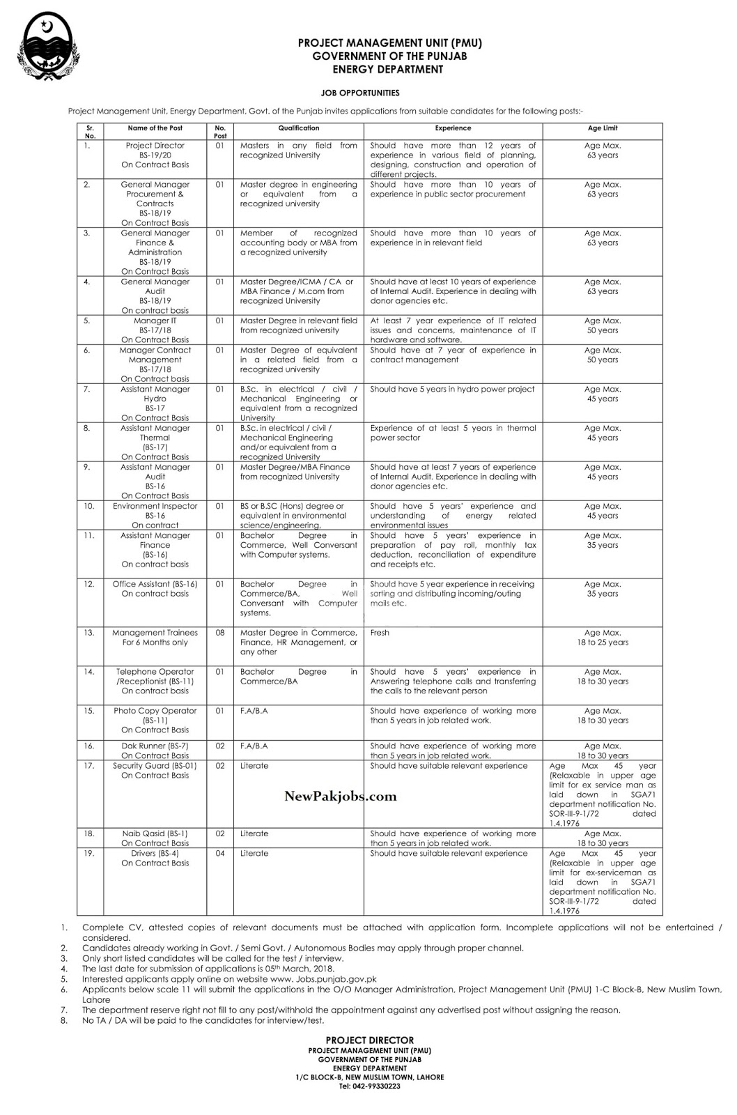 jobs-in-energy-department-online