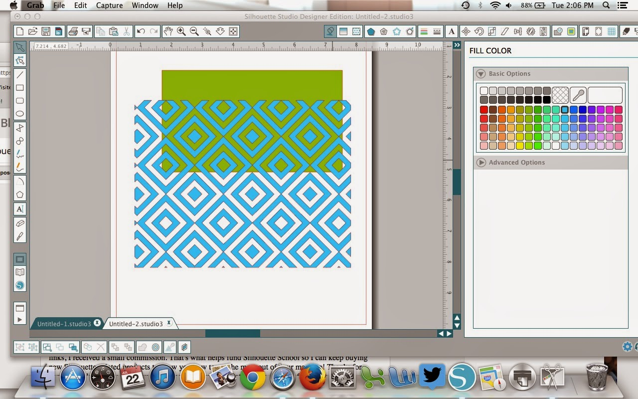 Patterns, cut files, Silhouette Studio, Silhouette tutorial, cuttable background