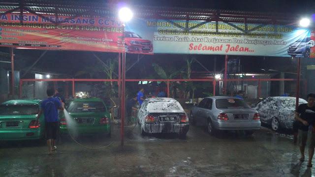 Cuci Mobil Bersama