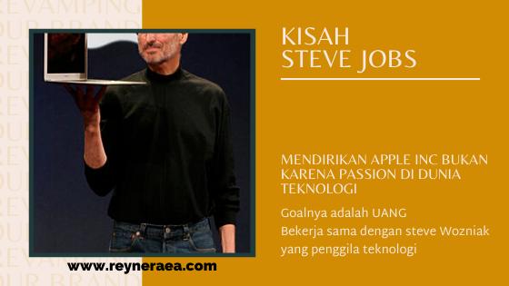 Passion steve jobs bukan teknologi