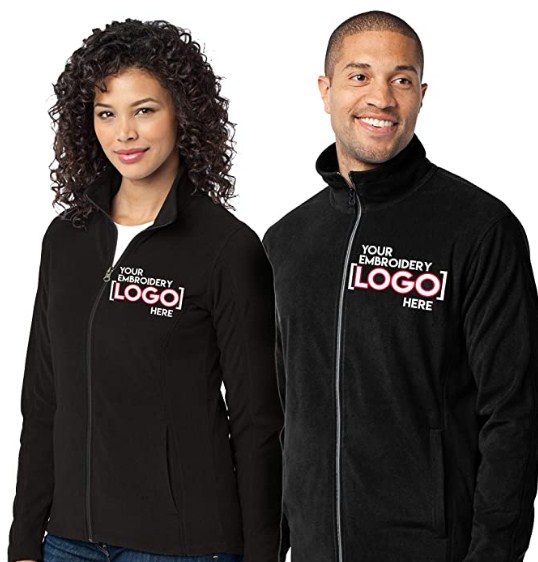 Custom Embroidered Lightweight Jacket for Women & Men