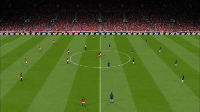 PES 2017 YRF Pitch V8 for AZ Stadiumpack
