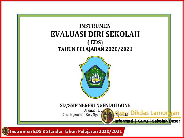Instrumen EDS 8 Standar Tahun Pelajaran 2020/2021