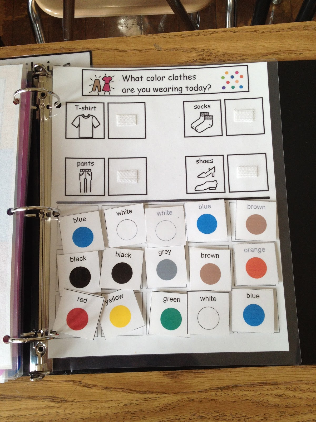 Autism Tank New Binder Pages On Tpt