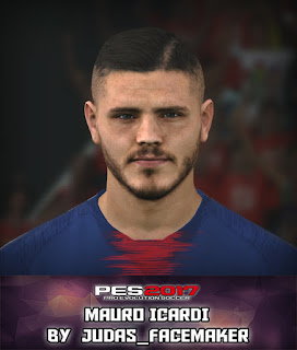 PES 2017 Faces Mauro Icardi by Judas