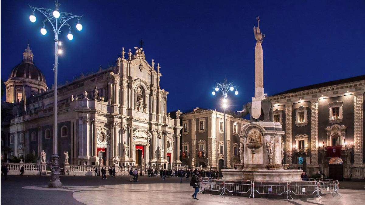 Cattedrale di Sant'Agata nuova illuminazione a led