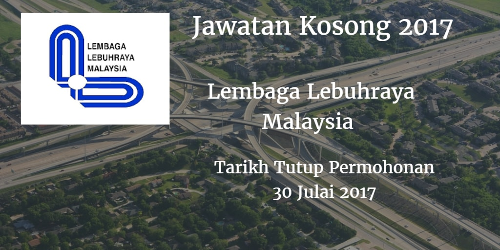 Jawatan Kosong LLM 30 Julai 2017