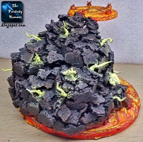Diorama Lava Base WiP4b