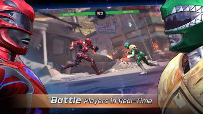 Power Rangers: Legacy Wars النسخة المهكرة