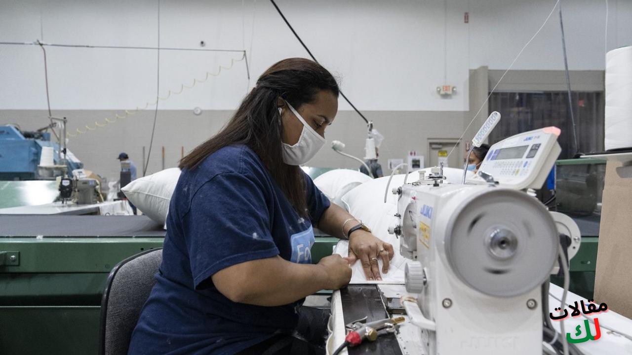 التصنيع والتجارة والتوظيف في الولايات المتحدة