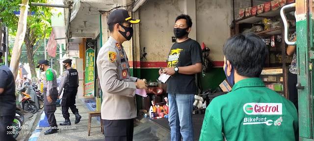 Forkopimda Nganjuk Bagikan Masker Gratis sebanyak 114 Ribu Guna Cegah Penularan Covid-19