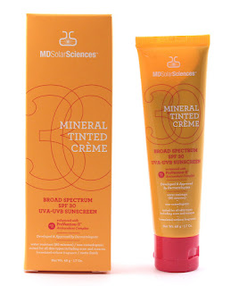MD Solar Sciences Mineral Tinted Cream SPF -30