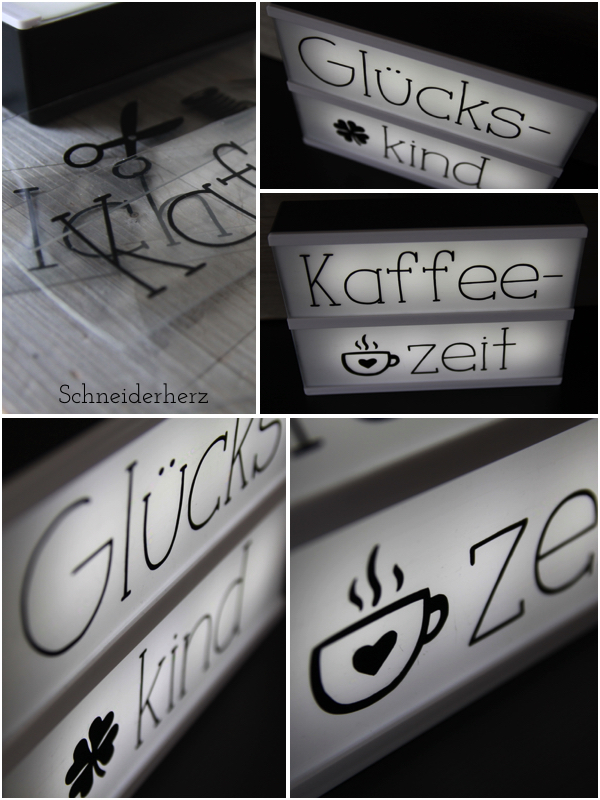 Little Lovely LIghtbox A5 Plotter Freebie Letters