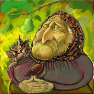 السيدة الحزينة وحبه الخردل