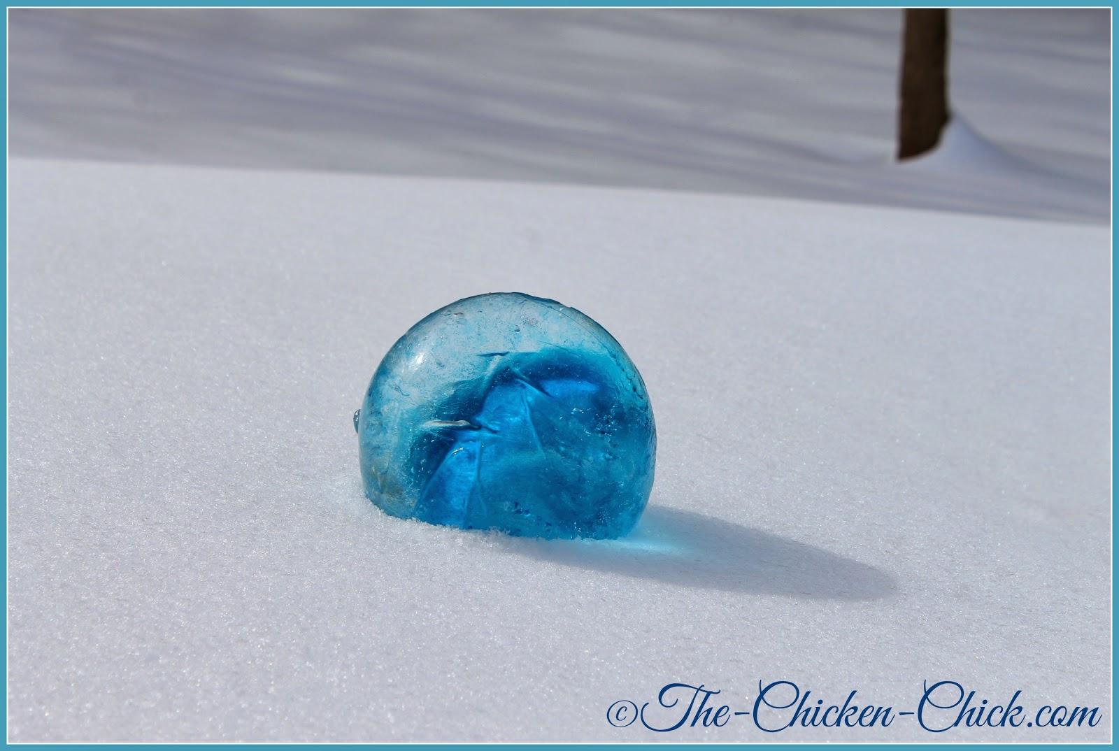 Ice globes