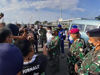 TNI AL Temukan Korban Kapal Ikan yang Terbakar dan Tenggelam di Perairan Pulau Berhala