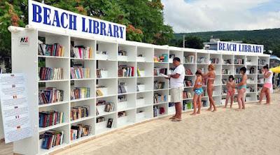 Perpustakaan di tepi pantai - Sekitar Dunia Unik