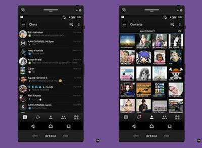 BBM MOD Black v3.3.0.16 APK New !