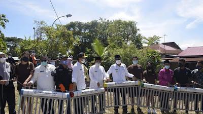 Padang Dapat Bantuan Perangkap Sampah dari PANGEA Movement