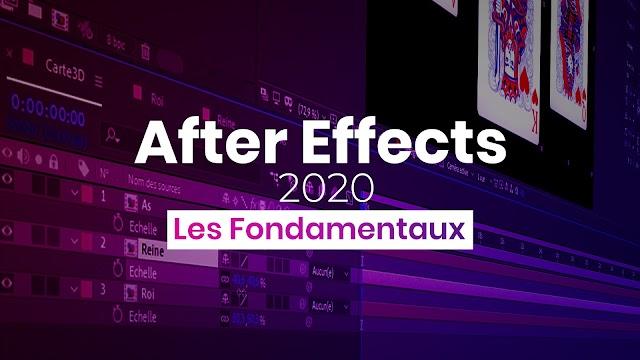 Les fondamentaux Adobe After Effects 2020