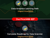 Data Analytics Learning Paths & Data Science Duo Deal