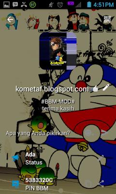 BBM MOD v3.0.0.18 Doraemon is Fun APK best bbm mod