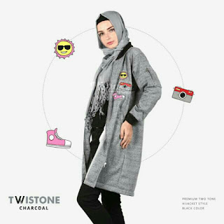 Hijacket Twistone VOLCANO AZURE CHARCOAL CAPRI M fit L XL