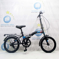 16 united stylo folding bike