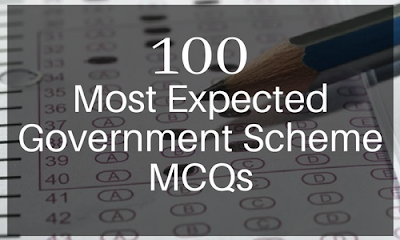 100 Most Expected Government Scheme MCQs | BankExamsToday
