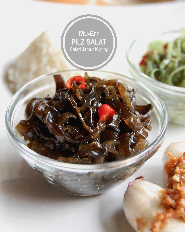 Mu Err Schwarze Pilze Salat Asiatisch
