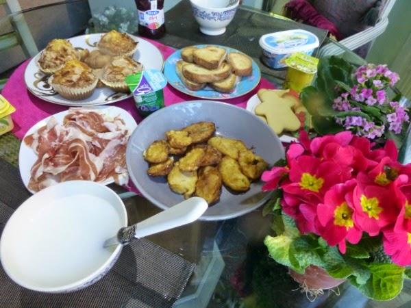 Desayuno completo para el día del padre