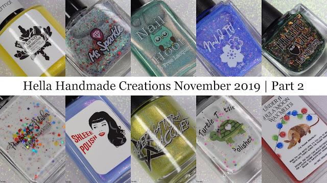 Hella Handmade Creations November 2019 | Part 2