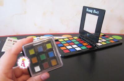 Правила игры в настольную игру Rubiks Race