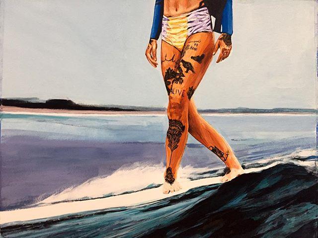 JC Carino ilumina el surf