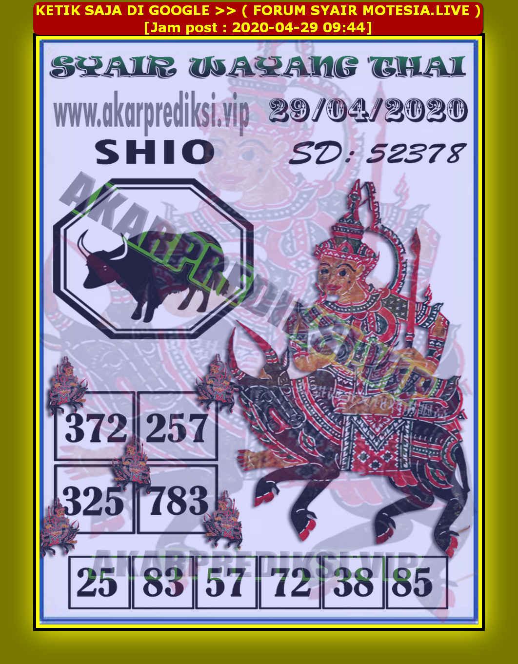 Kode syair Sydney Rabu 29 April 2020 64