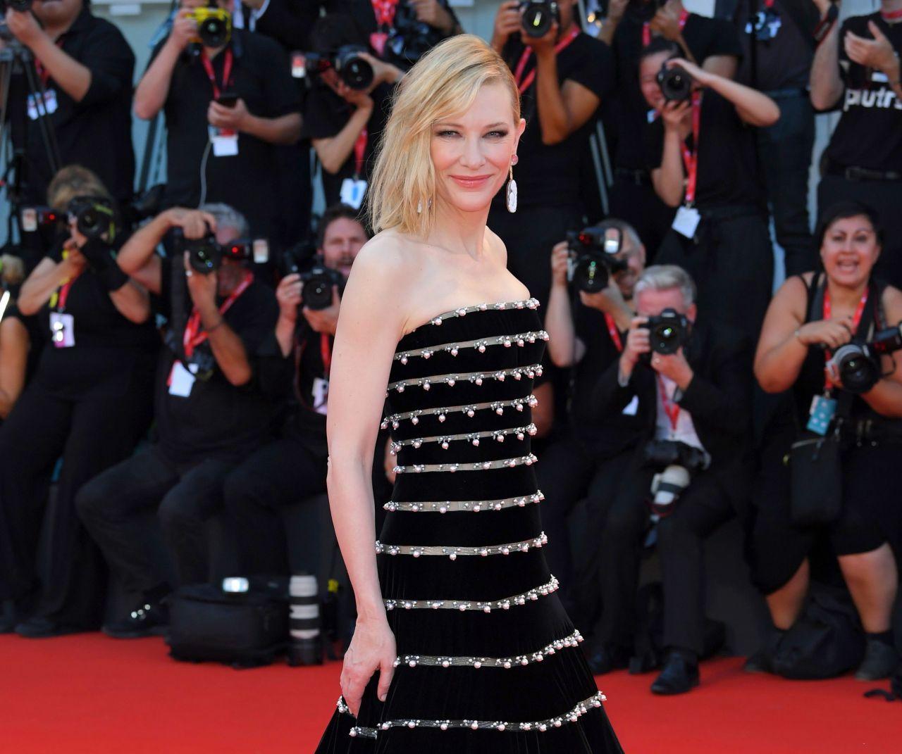 Cate Blanchett on Red Carpet – 'Joker' Screening at the 76th Venice International Film Festival in Venice
