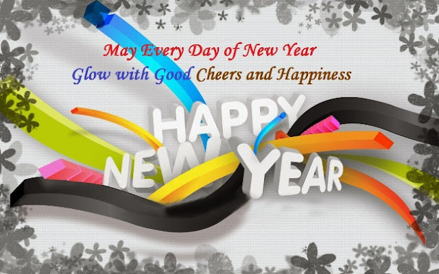 happy new year greetings with quotes