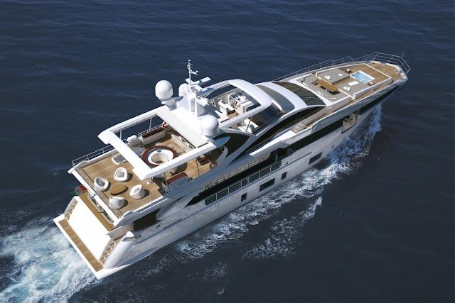 "NÁUTICA: Yachts Miami Beach 2017: Azimut Yachts vende a quinta unidade do iate ""GRANDE 35 METRI"""