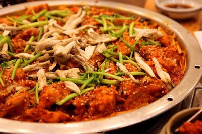 5 Makanan Enak Khas Daegu, Korea Selatan - Bogeo-bulgogi