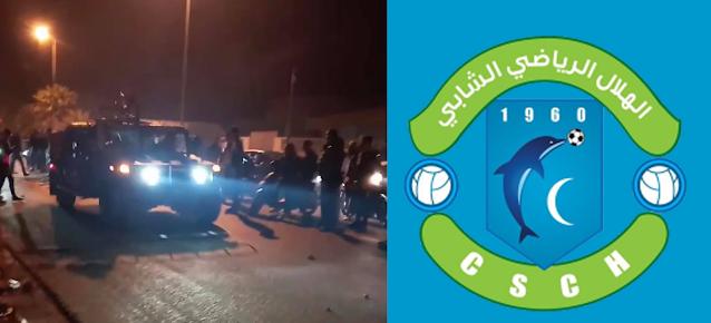 الشابة : الوحدات العسكرية لم تغادر المدينة وتواصل حماية المنشآت فيها