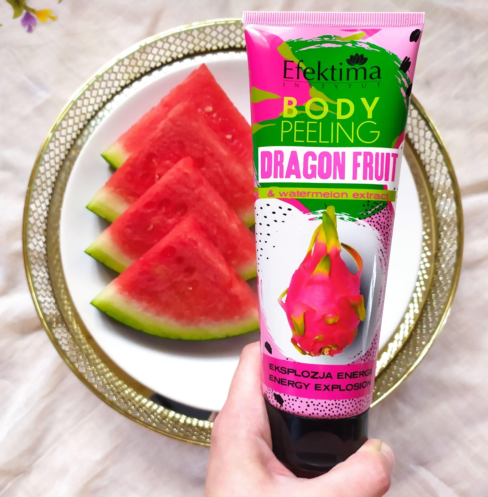 Recenzja - Efektima body peeling dragon fruit & watermelon extract