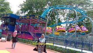 Wahana Seru 'Mola-Mola Jet Spinner'