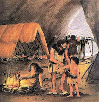 dove viveva l'uomo preistorico, la storia della casa