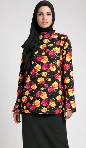 Gambar Baju Muslim Batik untuk Pesta