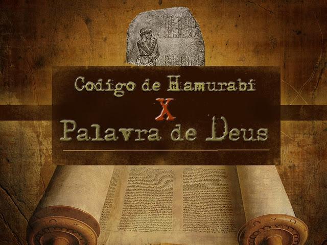 Codigo hamurabi e a biblia