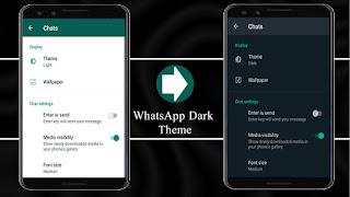 WhatsApp Dark Theme