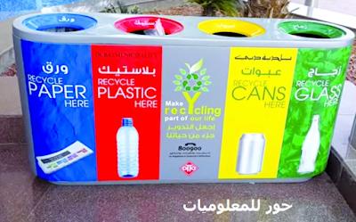 كيفية الاستفادة من القمامة واعادة تصنيعها