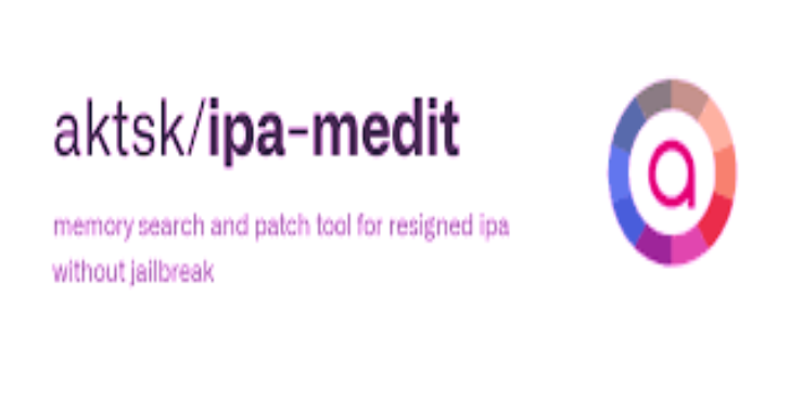 Ipa-Medit : Memory Search And Patch Tool For Resigned Ipa Without Jailbreak