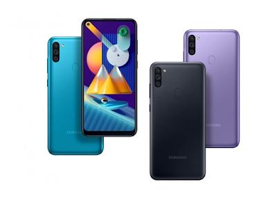 سامسونج جالاكسي Samsung Galaxy M11 الإصدار : SM-M115F, SM-M115F/DSN  مواصفات و سعر موبايل و هاتف/جوال/تليفون سامسونج جالاكسي Samsung Galaxy M11