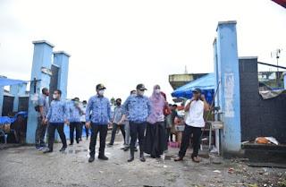Tinjau Pasar Delima, Bupati Batu Bara Himbau Pedagang Jaga Kebersihan